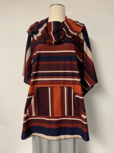 poncho 20 stripes 1of k $59