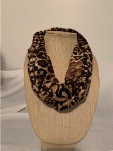 140 scarf animal knit