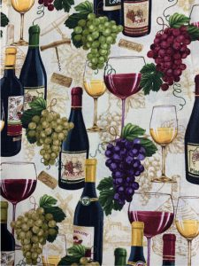#939 Wine with grapes