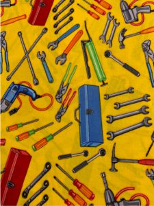 #942 Tools yellow