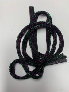 strap purple green